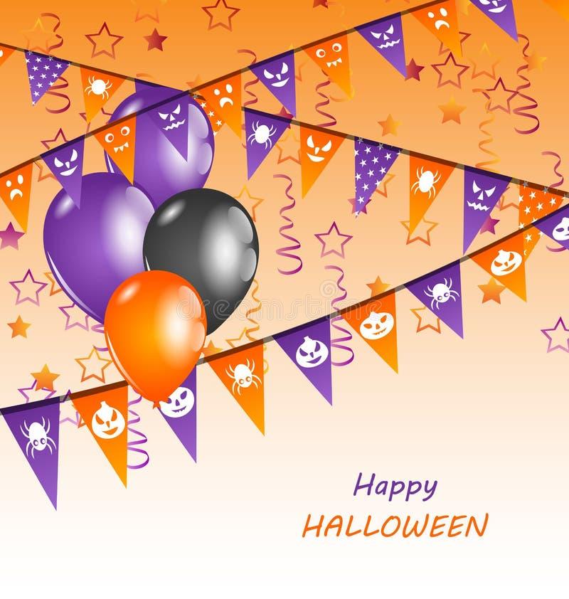 Glückliche Halloween-Partei vektor abbildung
