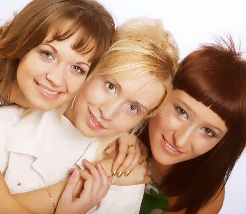 Glückliche jugendlich Mädchen lizenzfreie stockbilder