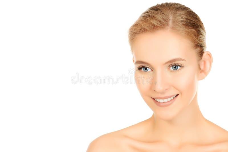 Glückliche junge Frau stockfotografie
