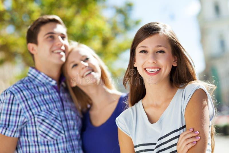Glückliche Junge Leute Lizenzfreie Stockbilder