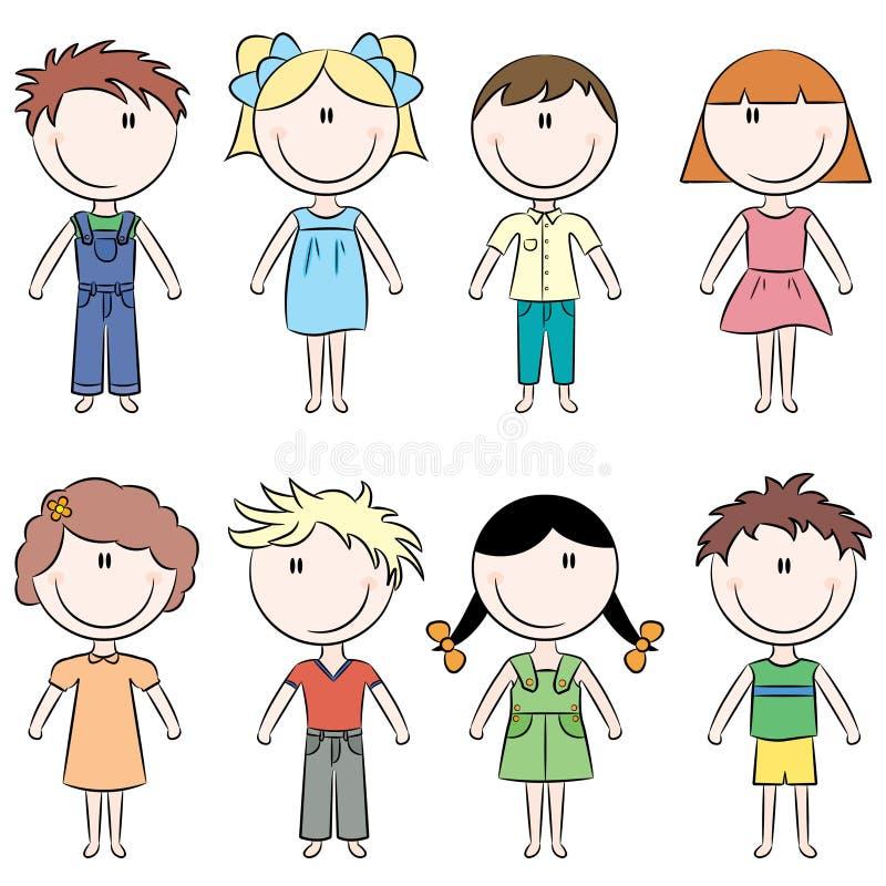 Glückliche Kinder vektor abbildung