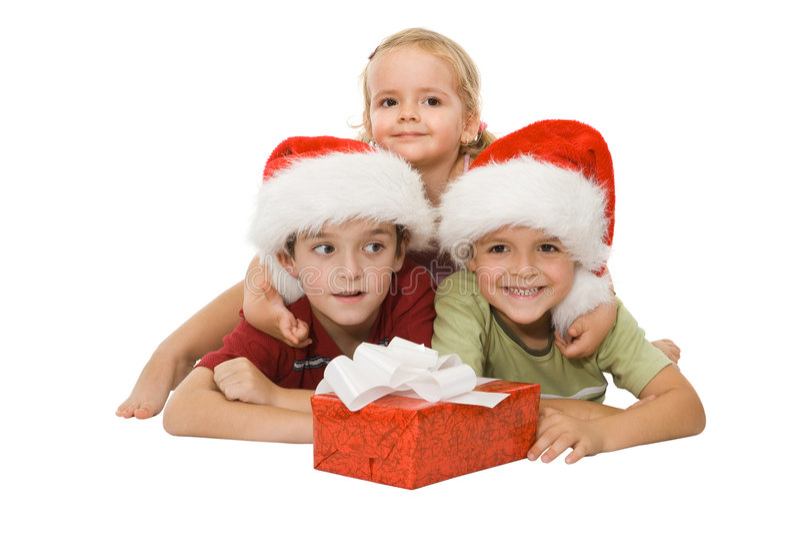 Glückliche Kinder lizenzfreies stockfoto