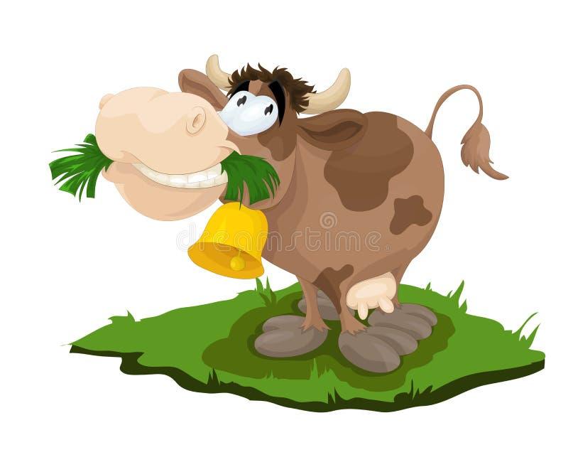Glückliche Kuh vektor abbildung
