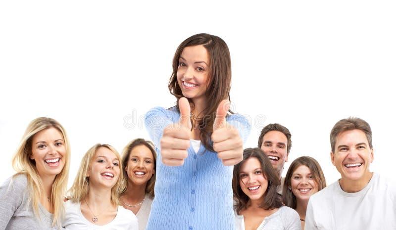 Glückliche Leute lizenzfreie stockbilder