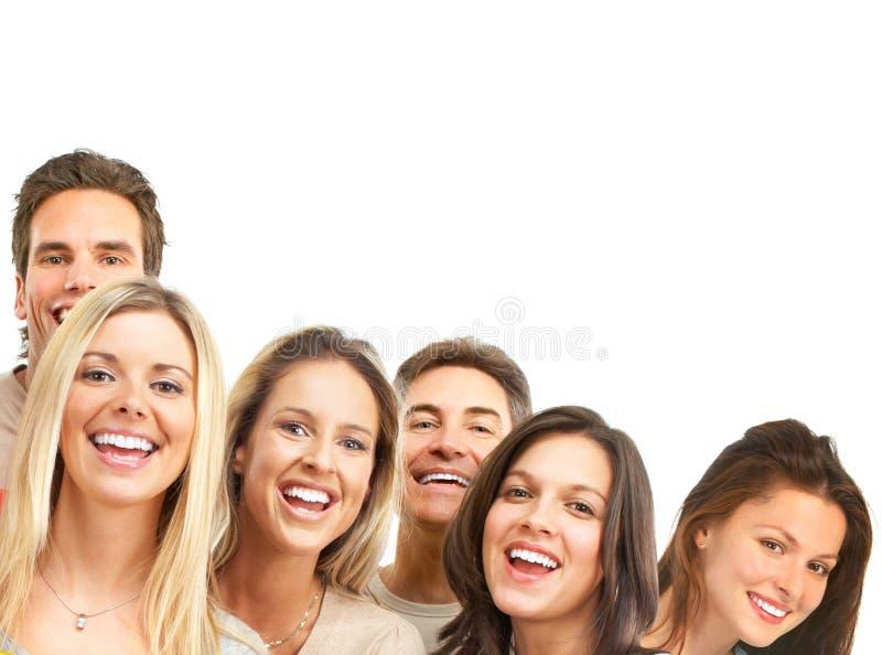 Glückliche Leute lizenzfreies stockbild
