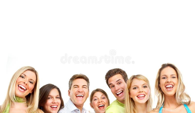 Glückliche Leute lizenzfreie stockfotos