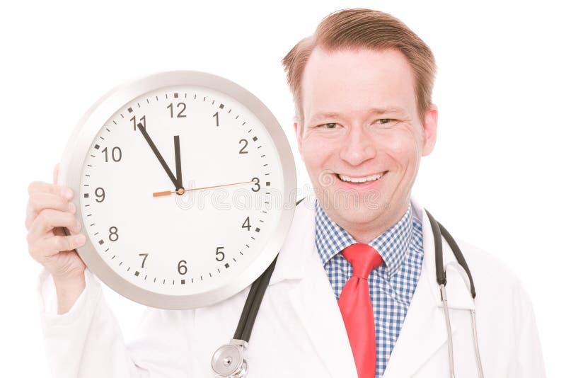 Glückliche medizinische Zeit lizenzfreies stockfoto