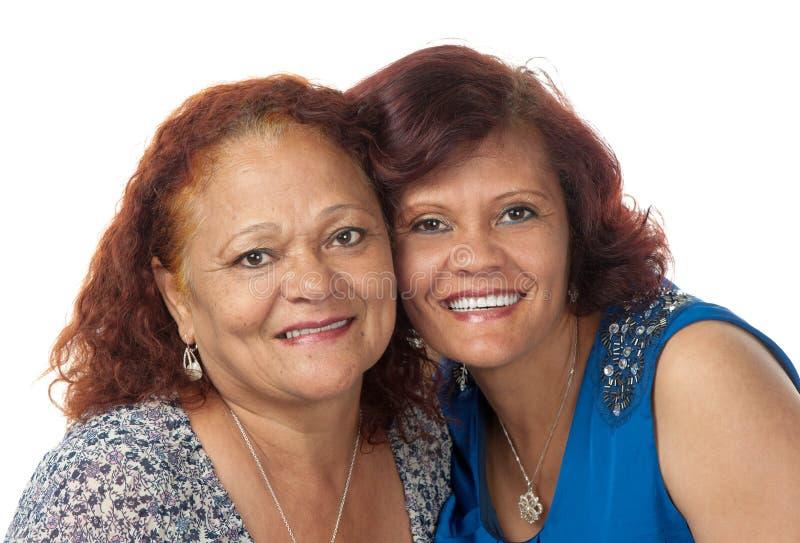 Glückliche Mutter und Tochter lizenzfreie stockbilder