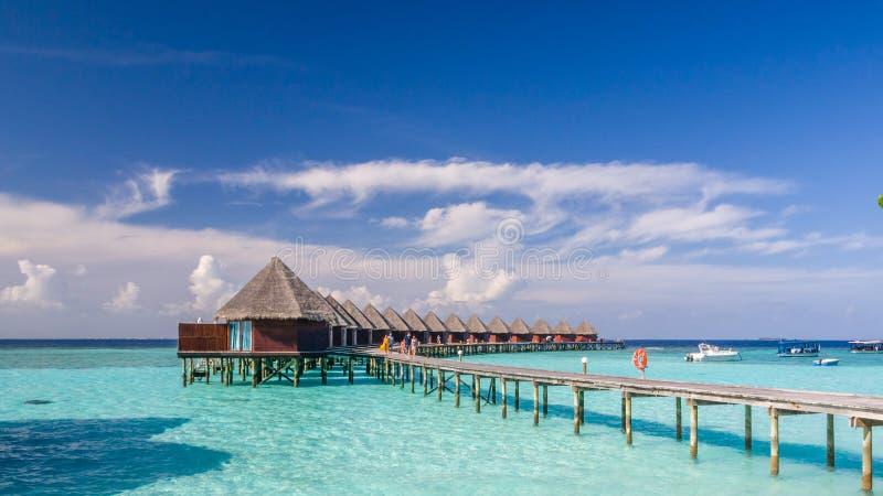 Glückliche Tage in maledivischem lizenzfreies stockbild