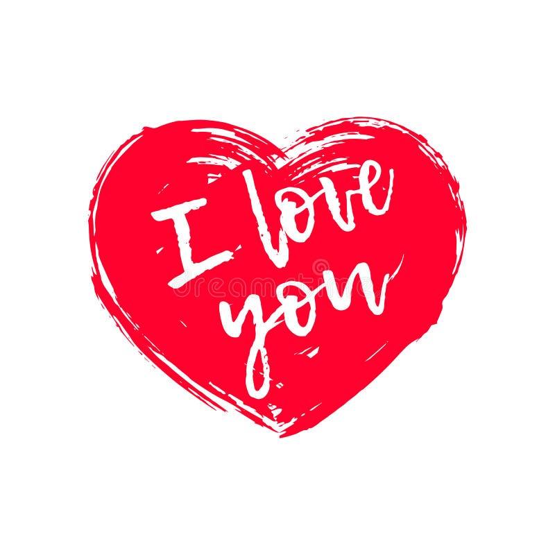 Glückliche Valentinsgruß `s Tageskarte lizenzfreie abbildung
