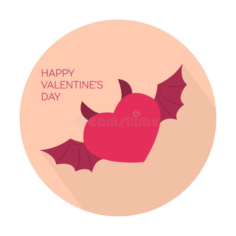 Glückliche Valentinsgrußtagessammlungsikone vektor abbildung