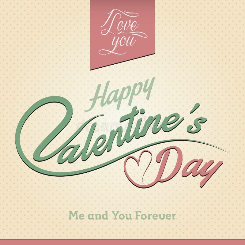 Download Glückliche Valentinstag Gruß Karte Vektor Abbildung   Bild:  36117450