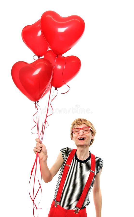 Glücklichen Valentinsgrußes! stockbilder