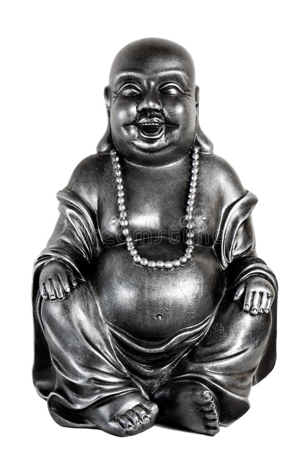 Glücklicher Buddha stockfotos