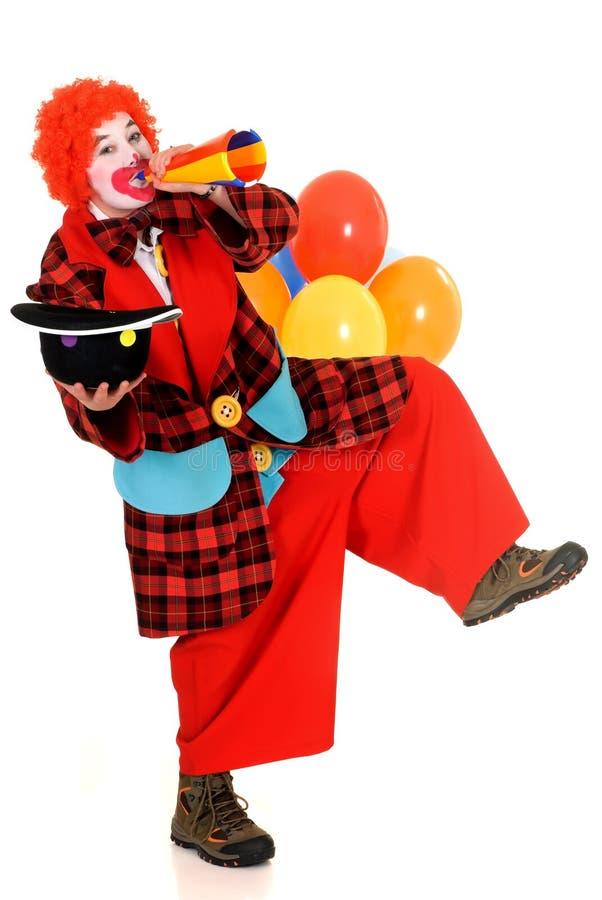 Glücklicher Clown lizenzfreies stockbild