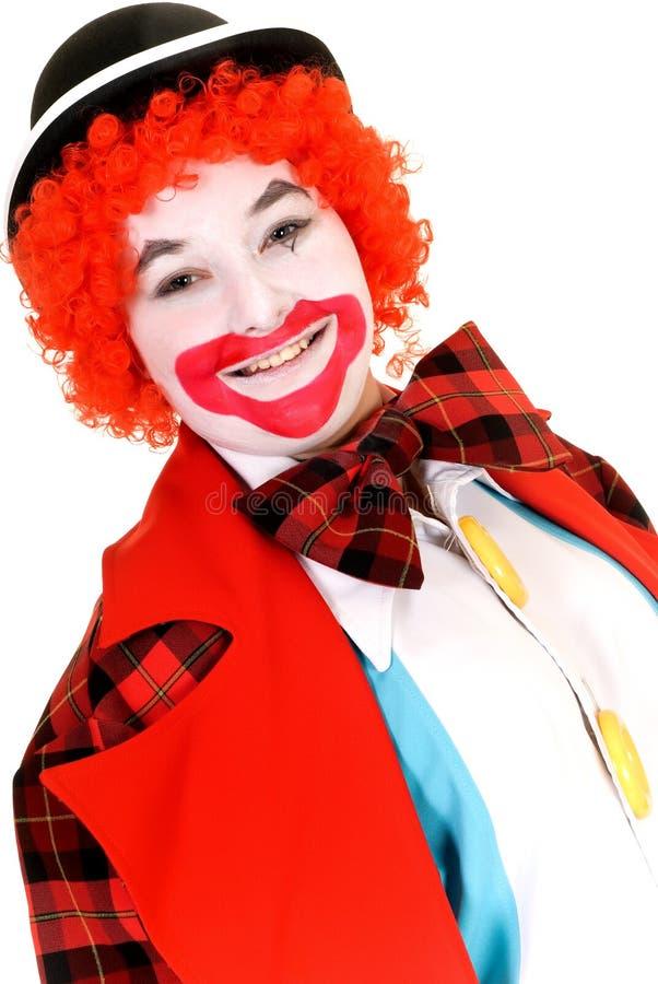 Glücklicher Clown stockfotos