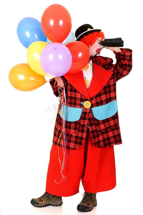 Glücklicher Clown lizenzfreie stockfotos