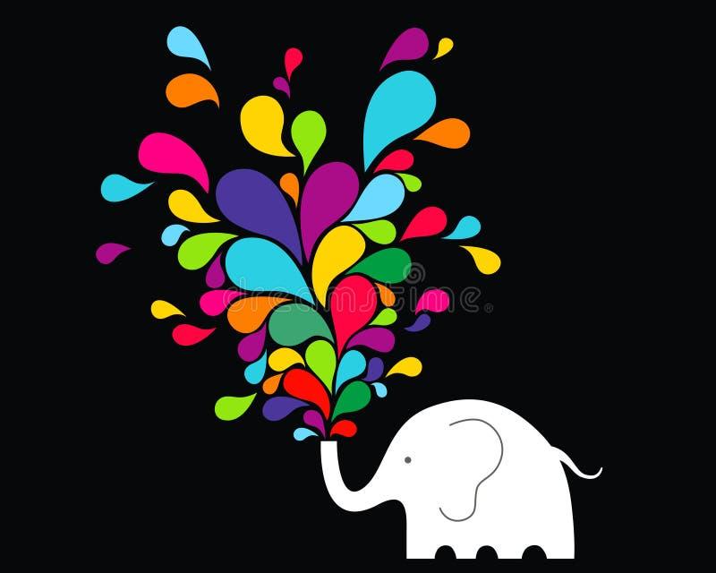 Glücklicher Elefant vektor abbildung