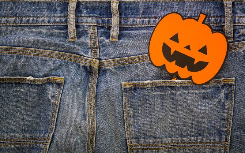 Glücklicher Halloween-Tag Modehintergrundkonzept Draufsicht von Hal lizenzfreies stockbild