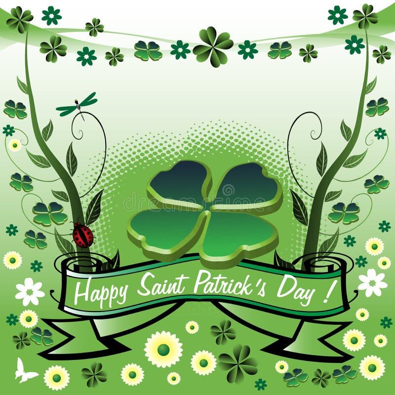 Glücklicher Heiligen Patricks Tag stock abbildung
