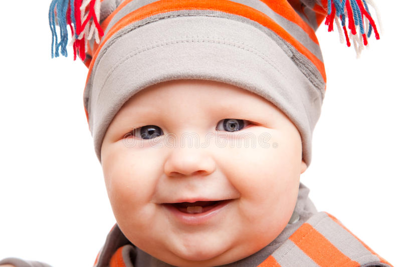 Download Glücklicher Junge stockfoto. Bild von gesund, farbe, fett - 12201208