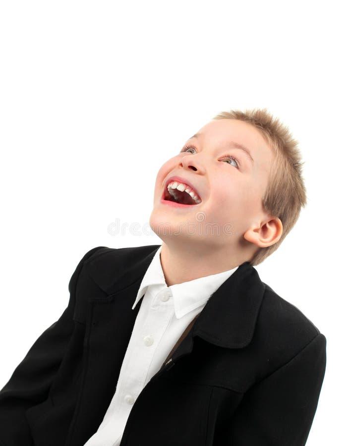 Glücklicher Junge stockbild
