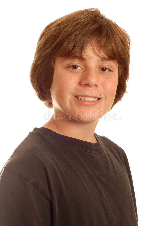 Glücklicher Junge des jungen jugendlich lizenzfreies stockfoto