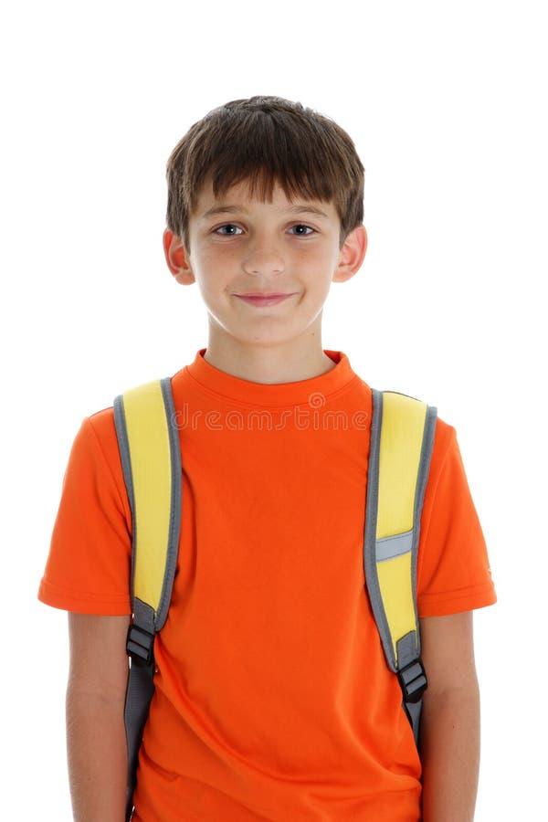 Glücklicher junger Junge lizenzfreie stockfotografie