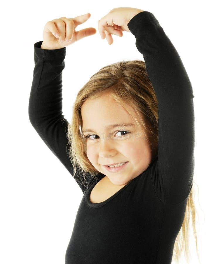 Glücklicher junger Tänzer lizenzfreie stockbilder