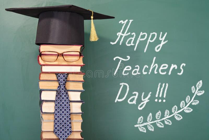 Glücklicher Lehrertag lizenzfreies stockfoto
