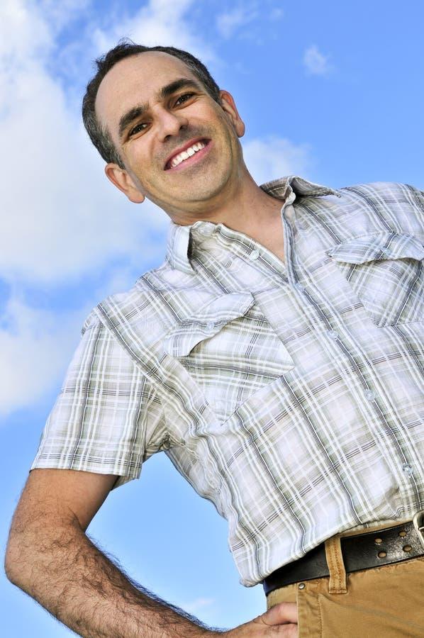 Glücklicher Mann lizenzfreies stockbild