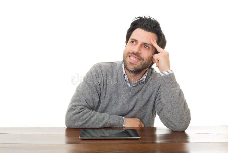 Glücklicher Mann lizenzfreie stockfotos
