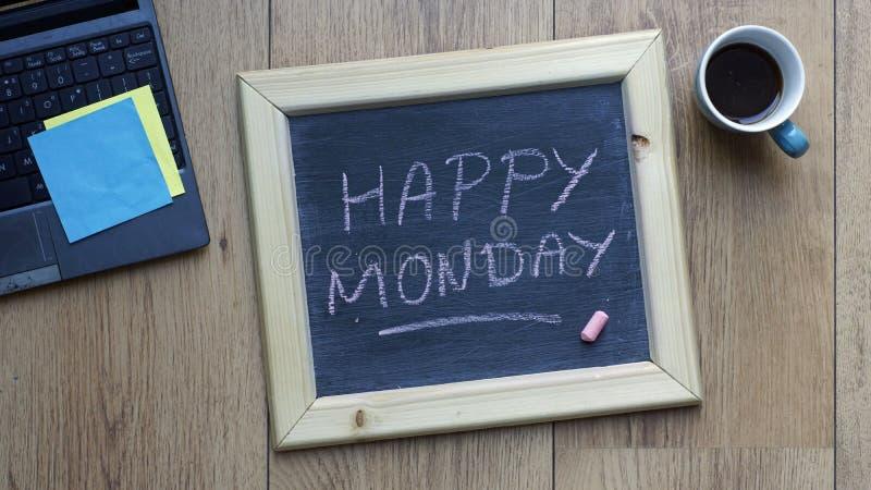 Glücklicher Montag stockbilder