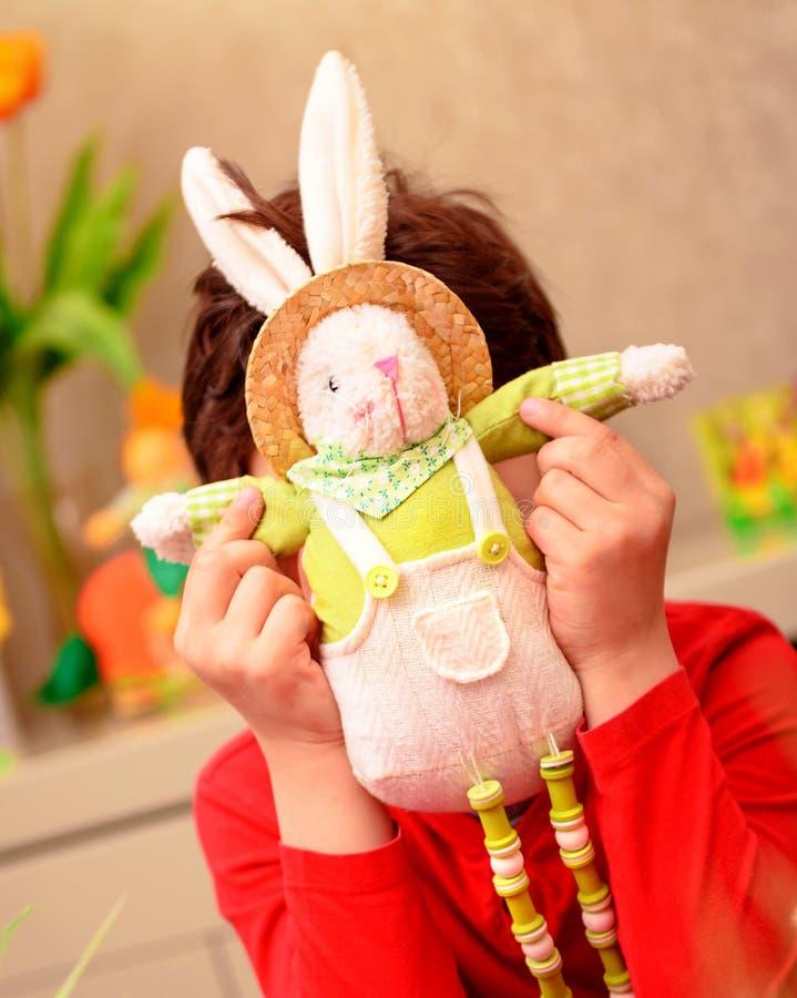 Glücklicher Ostern-Feiertag stockbilder