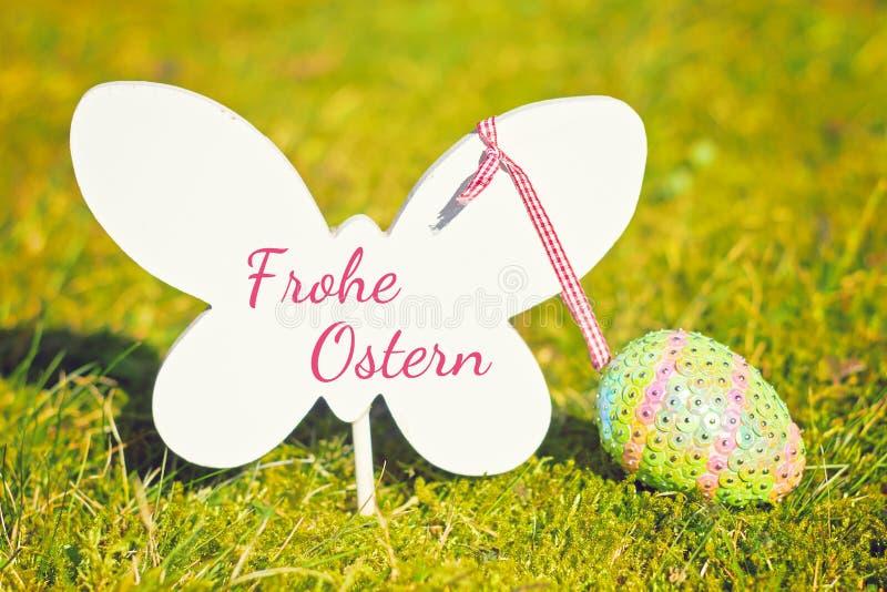 Glücklicher Ostern-Hintergrund stockfotos