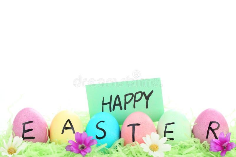 Glücklicher Ostern-Tag stockbild