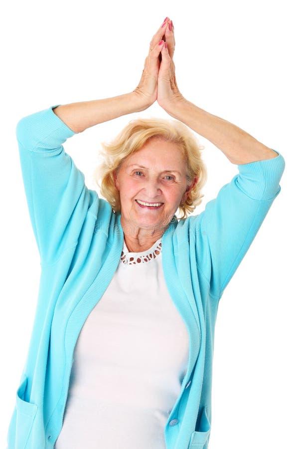 Glücklicher Senior lizenzfreie stockbilder