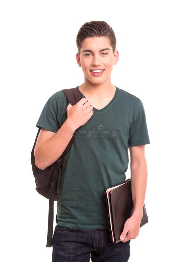 Glücklicher Student stockbilder