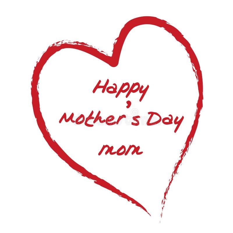 Glücklicher Tag des Mutter vektor abbildung