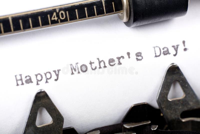Glücklicher Tag des Mutter lizenzfreie stockfotografie