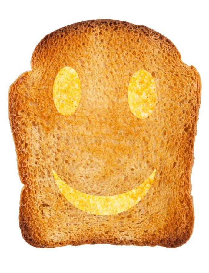 Glücklicher Toast stockfoto