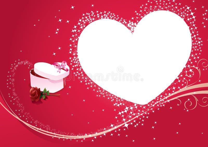 Glücklicher Valentinsgruß stock abbildung