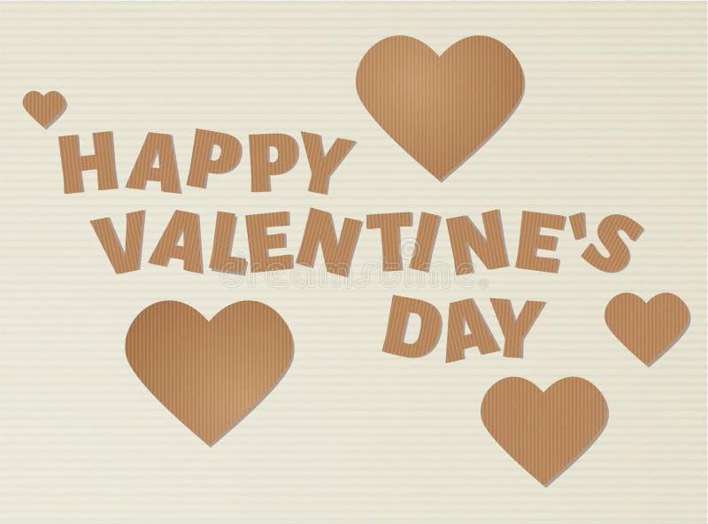 Glücklicher Valentinsgruß `s Tag vektor abbildung