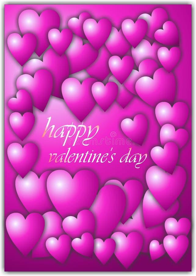 Glücklicher Valentinsgrußtag  stockbild