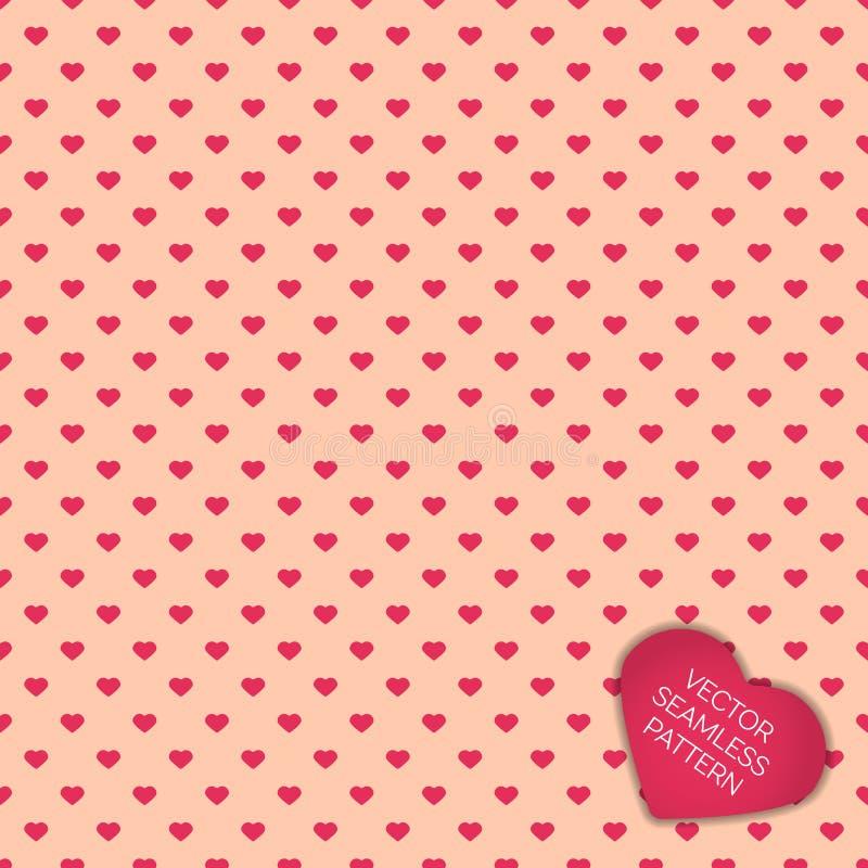 Glücklicher Valentinsgrußtagessammlungshintergrund vektor abbildung
