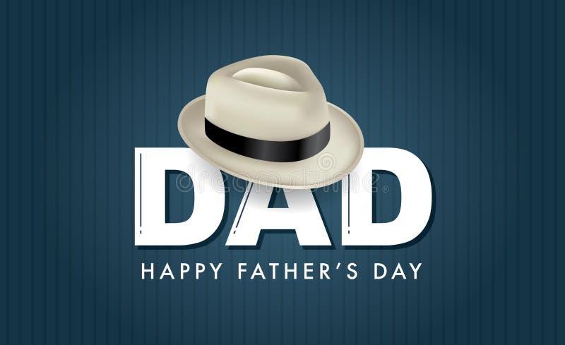Glücklicher Vater ` s Tag lizenzfreie abbildung