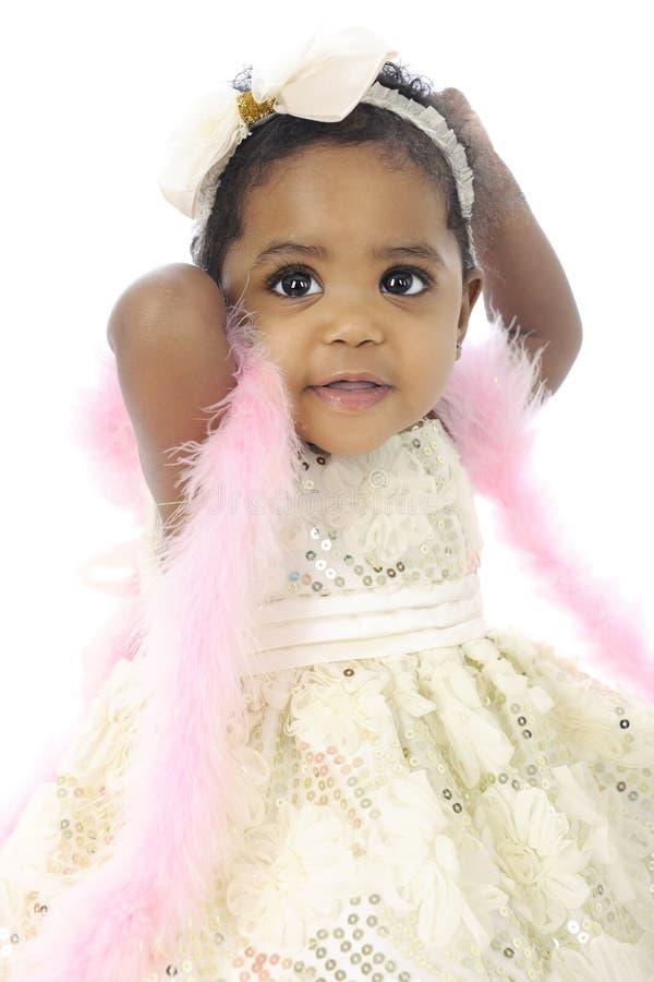 Glückliches Baby-Modell lizenzfreies stockfoto