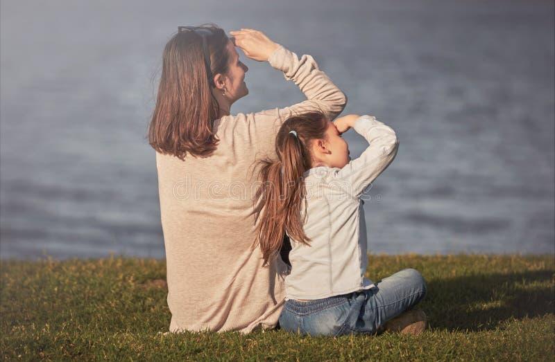 Glückliches Familienkonzept lizenzfreies stockfoto
