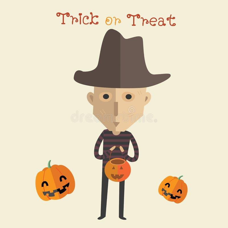 Glückliches Format Halloweens eps10 vektor abbildung