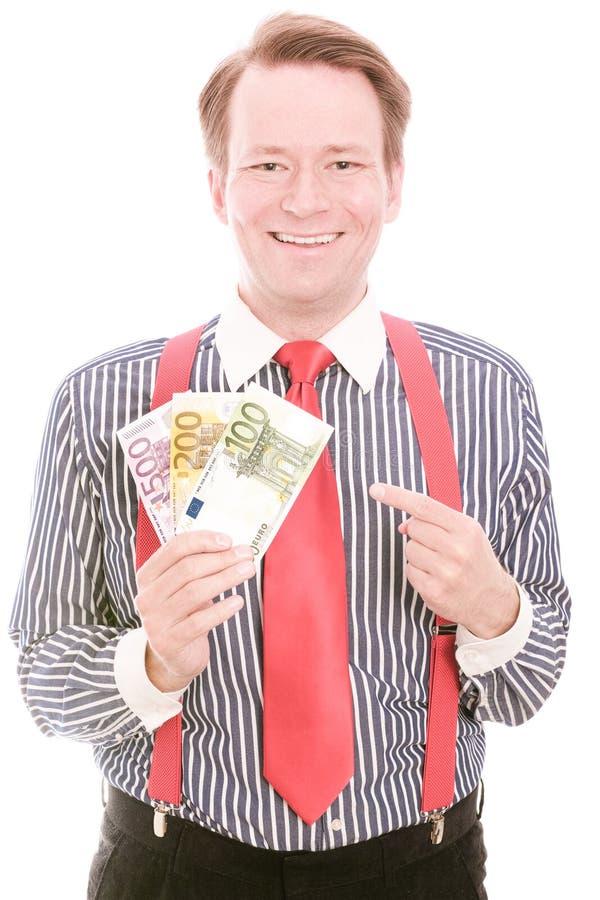 Glückliches Geld stockfotos